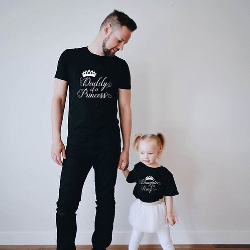 Daughter of a King | Daddy of a Princess T-shirts