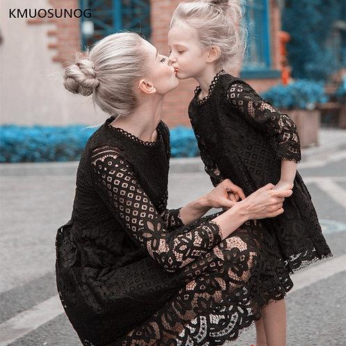 Formal Long Sleeve Lace Dress 💖