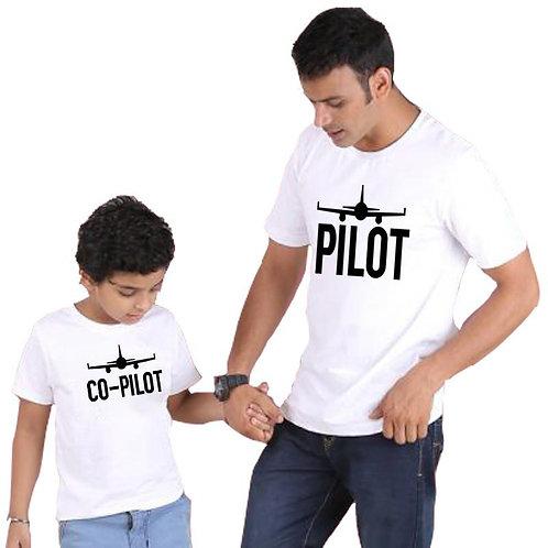 Pilot   Co-pilot T-shirts