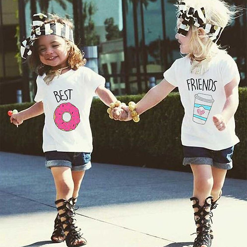 Coffee & Donuts | Best Friends T-Shirts