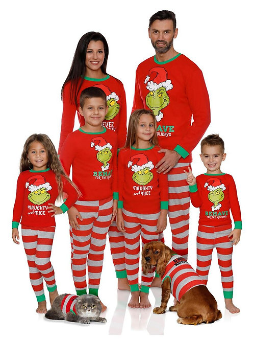 Grinch | Behave for the Holidays | Naughty & Nice PJ's