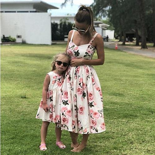 Floral Print Summer Dress 💖