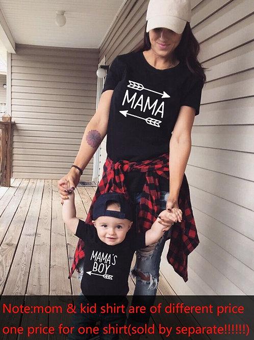 Mama | Mama's Boy T-shirts