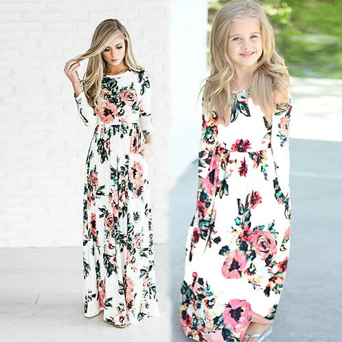 Long Sleeve Floral Maxi Dress 💖