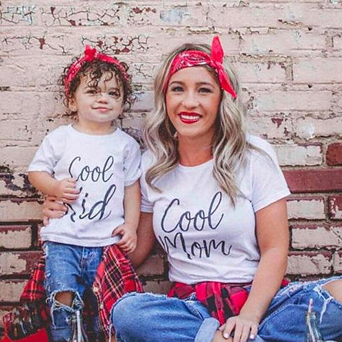 Cool Kid   Cool Mom T-shirt