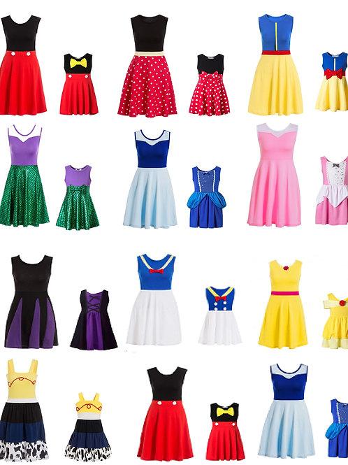 Cosplay Disney Princess Dresses 💖