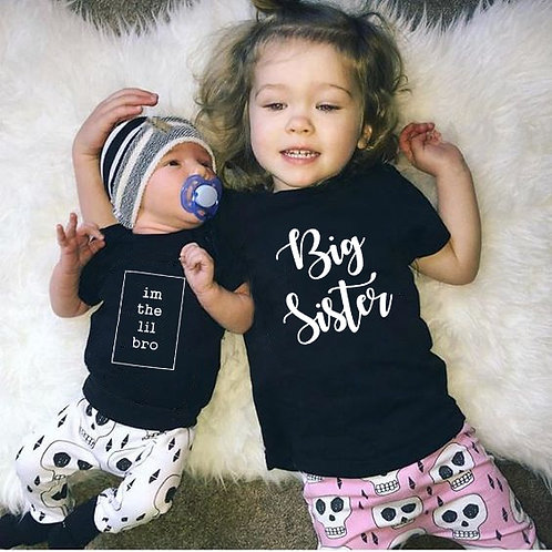 I'm the Lil Bro | Big Sister T-Shirts