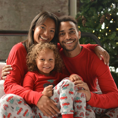 Red Long Sleeve Christmas PJs