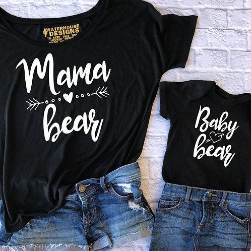 Mama Bear | Baby Bear T-shirts