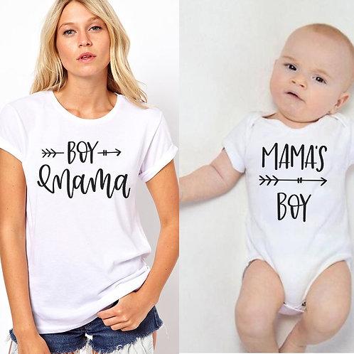 Boy Mama | Mama's Boy T-shirts