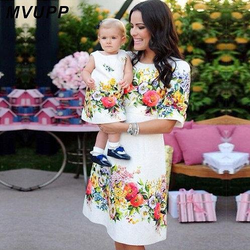 Formal Floral Print Dress 💖