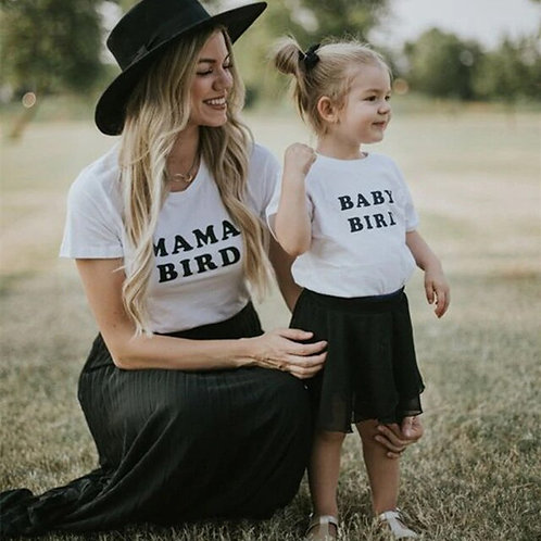 Mama Bird & Baby Bird T-shirts 💖