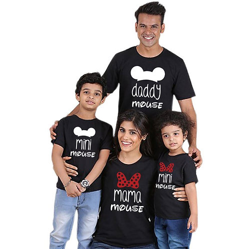 Daddy Mouse | Mama Mouse | Mini Mouse T-Shirts