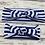 Thumbnail: Mommy a& Me Headband 2 Pcs Striped Bow Wide Elastic Band