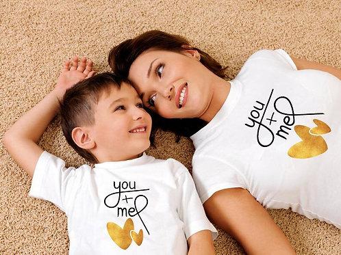 You + Me T-shirts