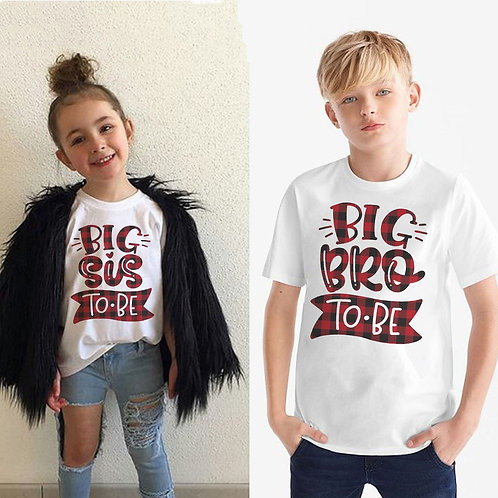Big Bro/Sis to Be Announcement T-shirt
