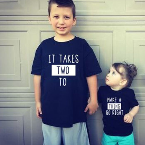 It Takes Two to Make a Thing Go Right T-Shirts