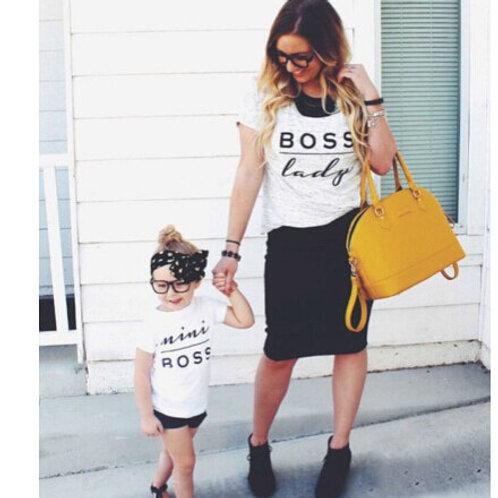 Boss Lady | Mini Boss T-shirts
