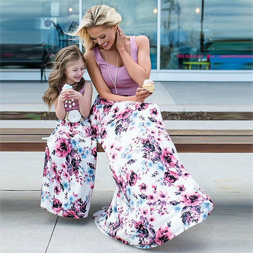 Floral Sleeveless Maxi Dress 💖