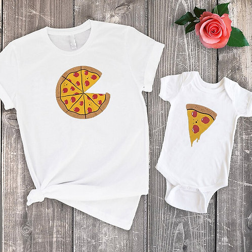You're a Slice of My Pizza Color T-shirts