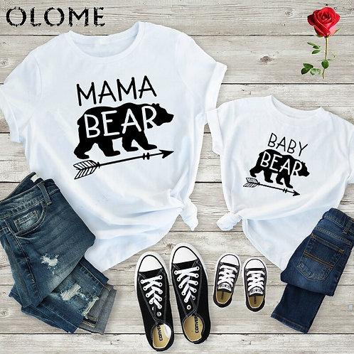 Mama Bear & Baby Bear T-shirts 💖