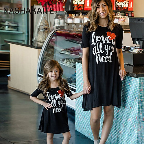 Love Is All You Need T-shirt Dress 💖