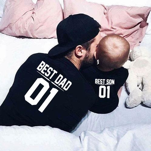 Best Dad | Best Son T-shirts
