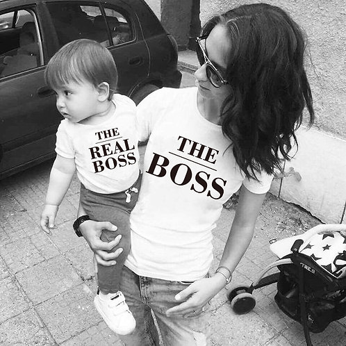 The Boss & the Real Boss T-Shirts