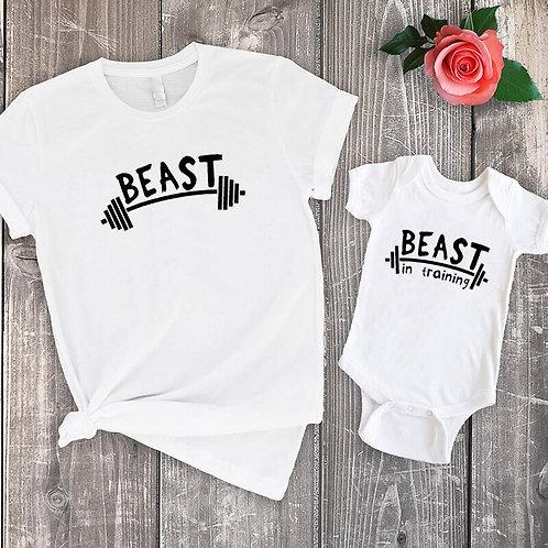 Beast & Beast in Training T-shirts