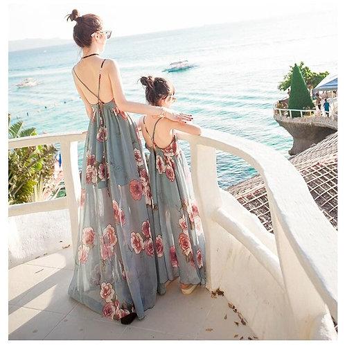 Summer Tank Long Mesh Dress 💖