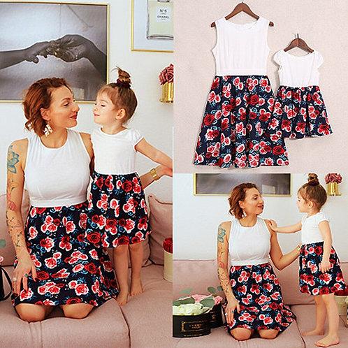 Floral Mini Dress 💖