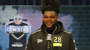 Solomon Kindley interview with media at NFL Combine