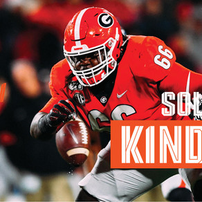 Dolphins Draft Georgia Guard Solomon Kindley