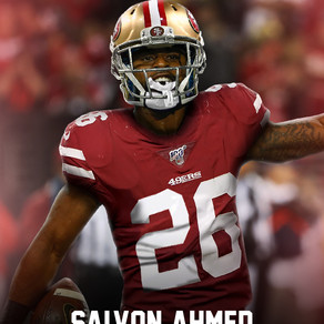Salvon Ahmed signed to San Francisco 49ers