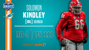 Solomon Kindley share NFL Draft experiences with media