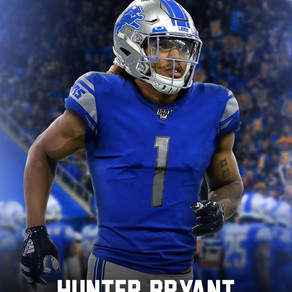 Lions land promising Washington TE Hunter Bryant