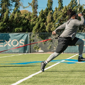 Solomon Kindley prepares for NFL Combine at EXOS in Florida