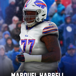 Auburn OL Marquel Harrell signs undrafted deal with Bills