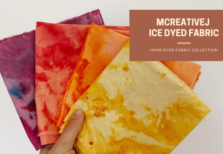 Ice, Ice Baby! The New Handmade Ice Dye Fabric Collection Is Here