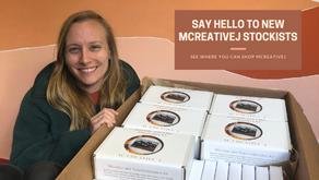 Say Hello to New MCreativeJ Stockists!