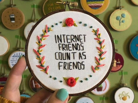 Internet Friends Are Real Friends