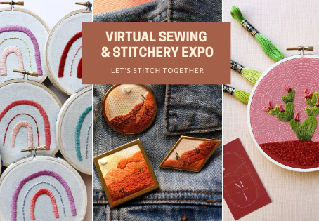 MCreativeJ at the Virtual Sewing and Stitchery Expo
