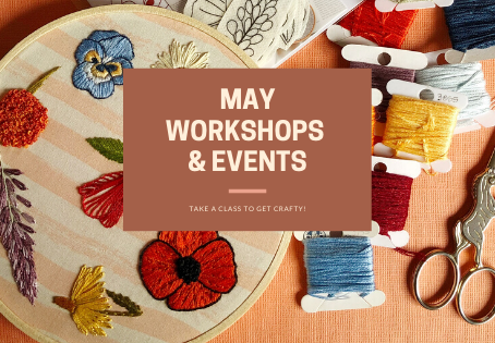 May Workshops and Events