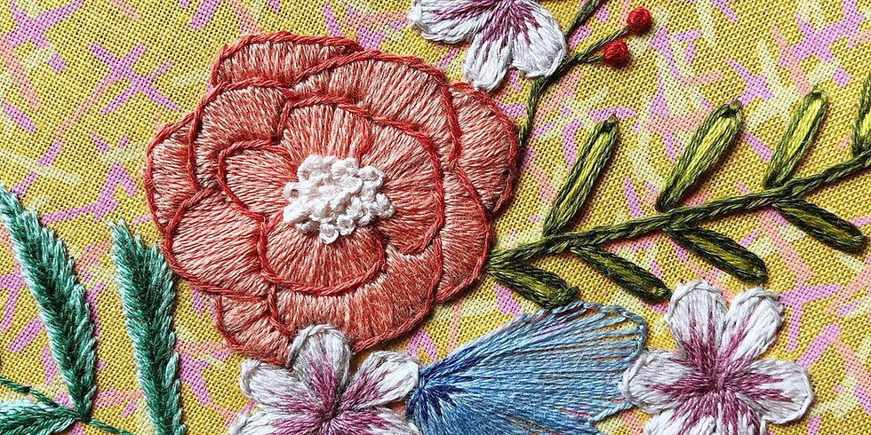 Floral Embroidery Basics