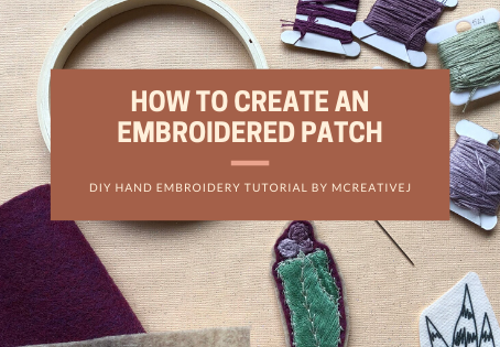 How to Create an Embroidered Patch