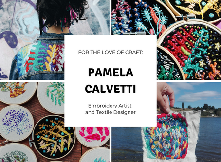 For The Love Of Craft: Pamela Calvetti