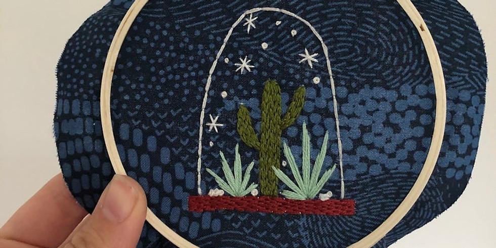 Cactus Snow Globe