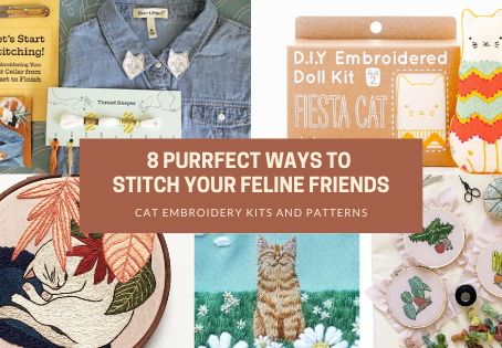 8 Purrrfect Ways to Stitch Your Feline Friends