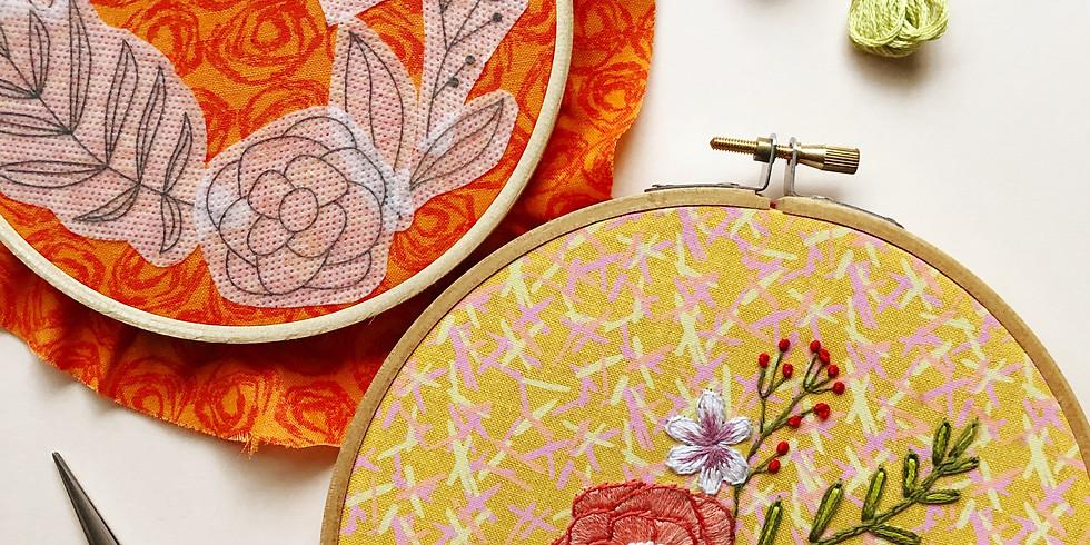Floral Embroidery Basics Workshop