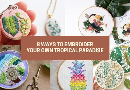 Tropical Paradise Embroideries